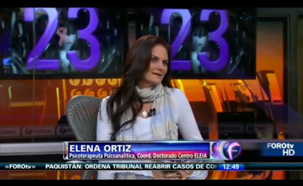 Ataques de ansiedad. Dra. Elena Ortiz en Canal 4, Respuesta Oportuna
