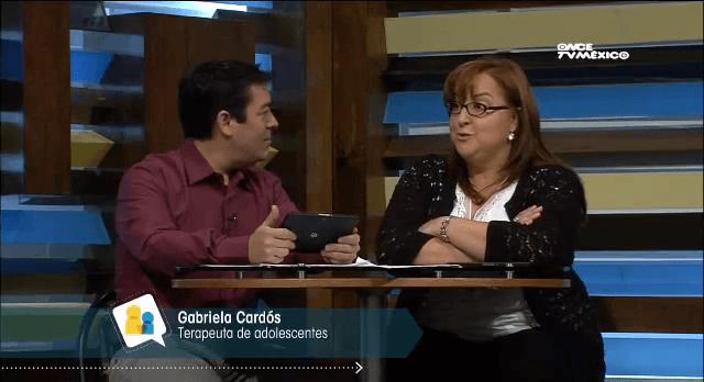 ¡Auxilio! Tengo un hijo adolescente. Participación de Dra. Gabriela Cardós en Diálogos en Confianza de Canal Once.