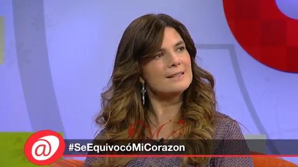"""""""Se equivocó mi corazón"""", intervención de Mtra. Ingela Camba en UNO TV."""