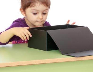 La caja de juegos en el tratamiento con niños