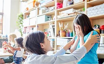Fobias comunes en los niños de edad escolar